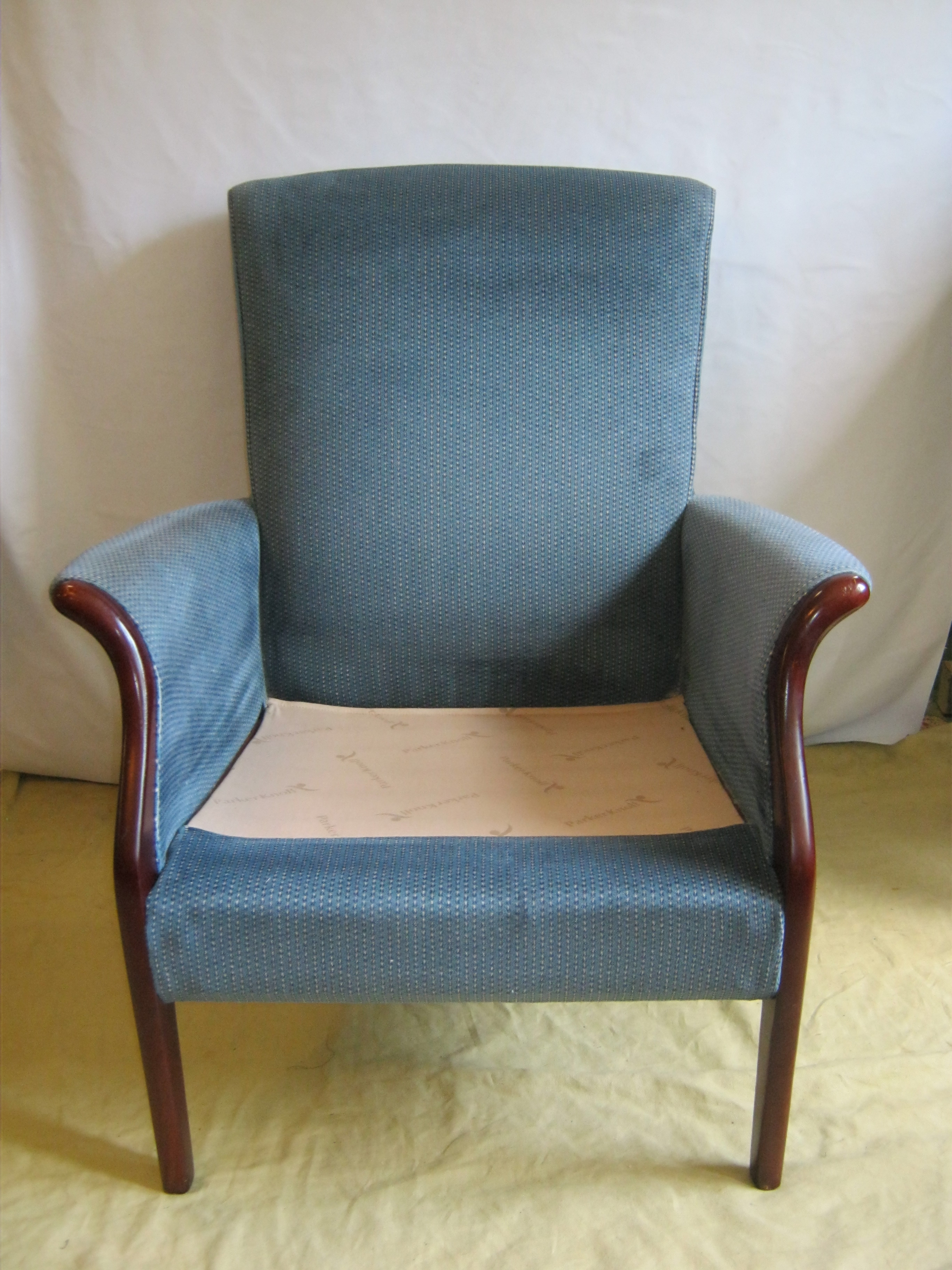 Froxfield arm chair. Before