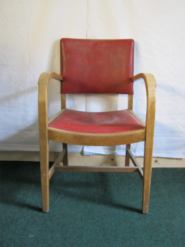 Bent Wood Art Deco carver chair (now sold.)