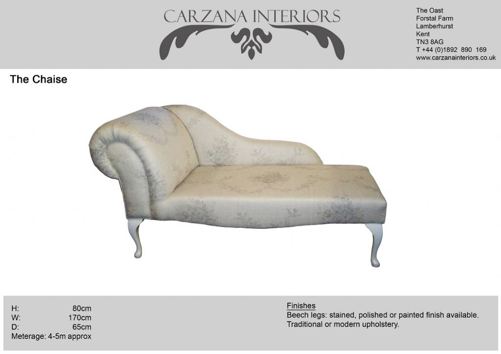 Chaise longue (left or right hand.)
