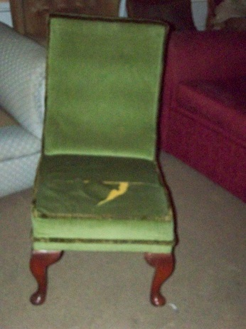 small chair for restoration.