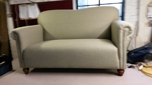 cranbrook sofa, with fixed seat or loose cushions, can be made to order in two or three seater sizes.