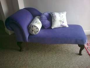 chaise longue made to order.