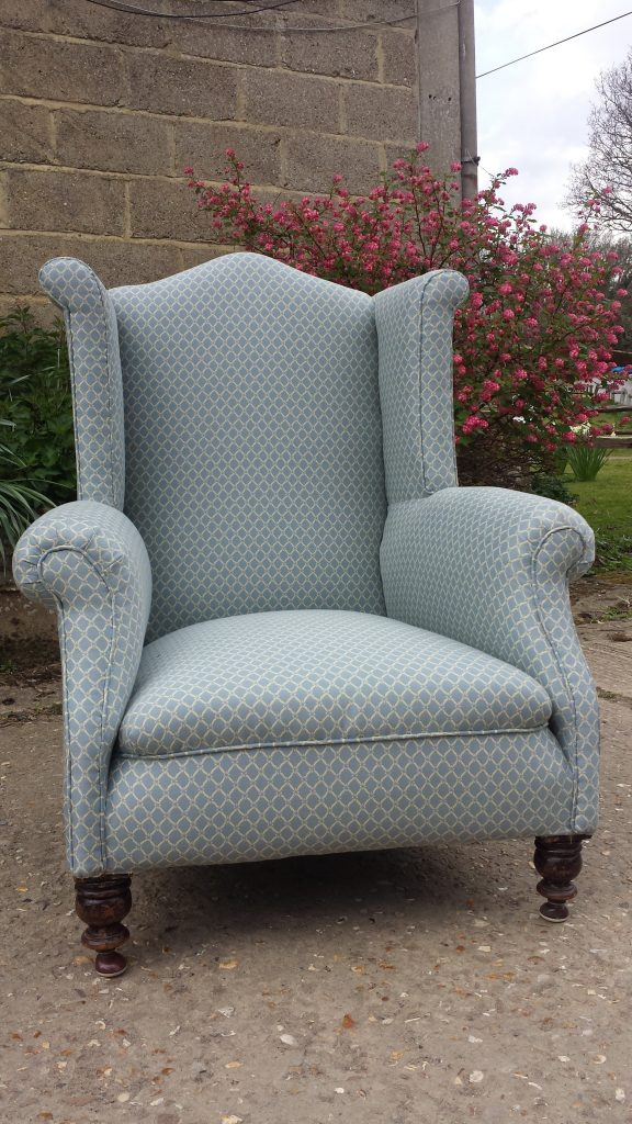 Wing Chair. (this one sold, similar often available.)