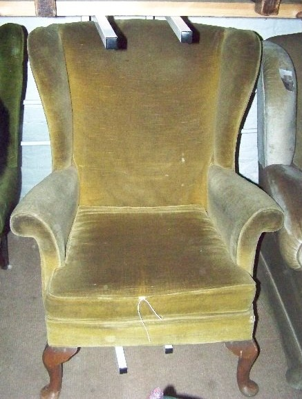 wing Chair. Before