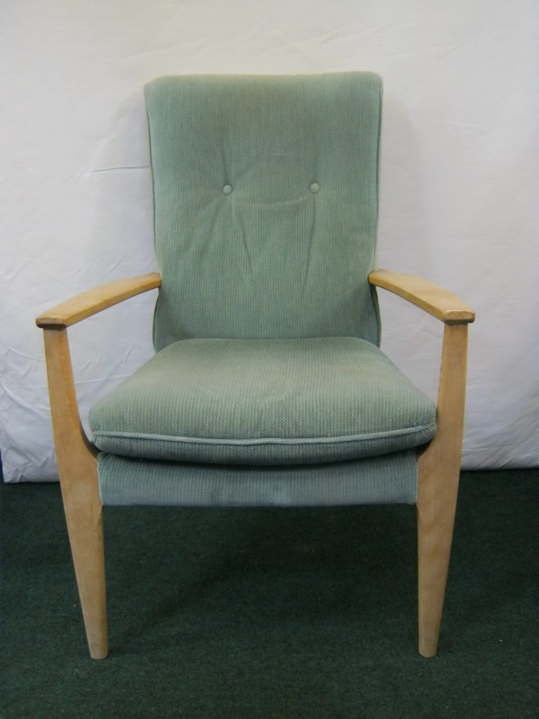 Parker Knoll Wooden Armed Chair (two seater sofa also available.)