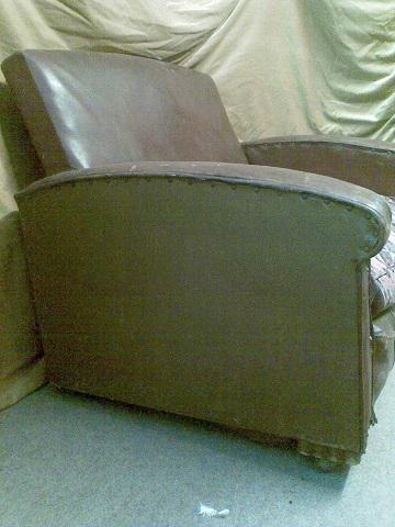 1920's club sofa.