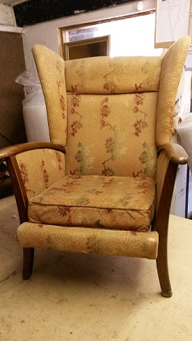 1960's vintage chair. Before