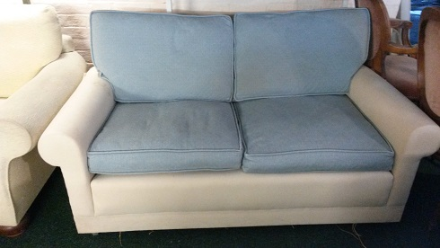 pair of sofas for recovering or new loose covers